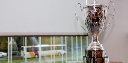 Latvijas kausa ieguvējiem futbolā tiks pasniegta jauna trofeja