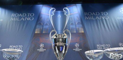 'Real Madrid' pret 'Juventus' un Anglijas klubu derbijs: notikusi UEFA Čempionu līgas ceturtdaļfināla izloze