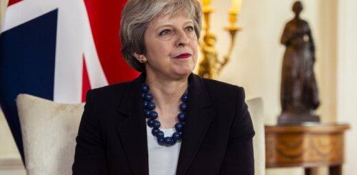 'Brexit' vienošanās joprojām ir iespējama, uzskata Meja