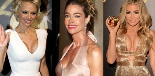 Desmit slavenas sievietes, kuras lepojas ar mākslīgajām krūtīm