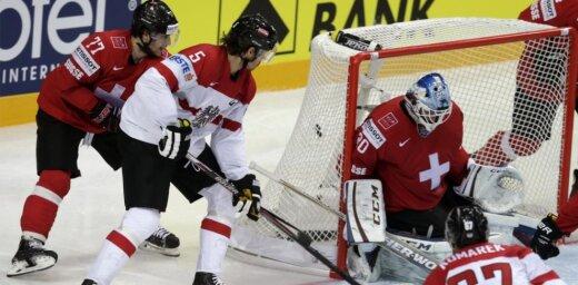Austrija neticami atspēlējas un sensacionāli uzvar Šveici