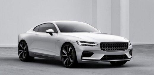 'Polestar' no 'Volvo' detaļām radījis savu pirmo patstāvīgo modeli