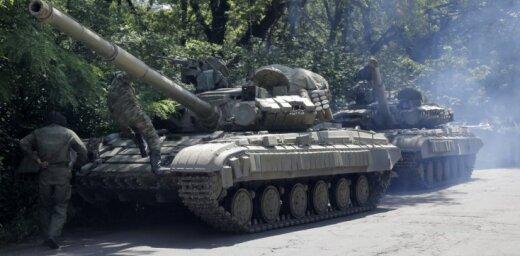 Krievija trīs gadu laikā desmitkāršojusi bruņojumu Donbasā