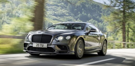 Visjaudīgākais un visātrākais 'Bentley' spēkrats markas vēsturē