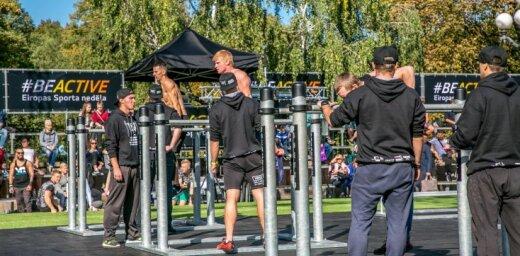 Eiropas Sporta nedēļas atklāšana 23. septembrī notiks Centra sporta kvartālā Rīgā
