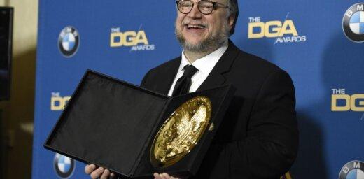 Režisoru ģildes galveno balvu saņem Giljermo del Toro par 'Ūdens formu'