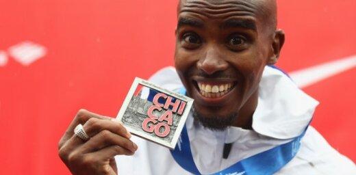 Mo Farahs uzvar prestižajā Čikāgas maratonā un labo Eiropas rekordu
