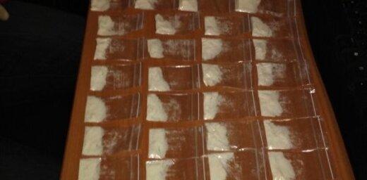 В Зиепниеккалнсе задержан наркодилер: изъяты метамфетамин и кокаин