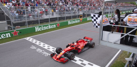 Incidents ar finiša karogu Monreālā var mainīt F-1 sacensību sistēmu