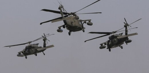 Латвийцев предупреждают о низких полетах вертолетов США