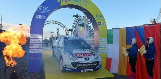 'Peugeot' jauno rallistu akadēmija pievienojas jaunajai ERČ klasei