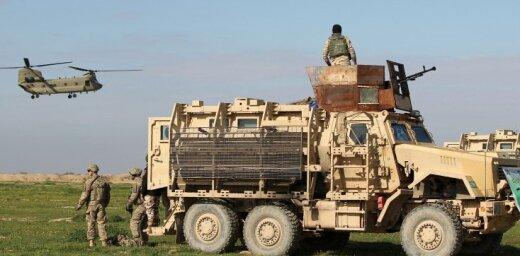 Irākas armija sākusi uzbrukumu Mosulas vecpilsētai