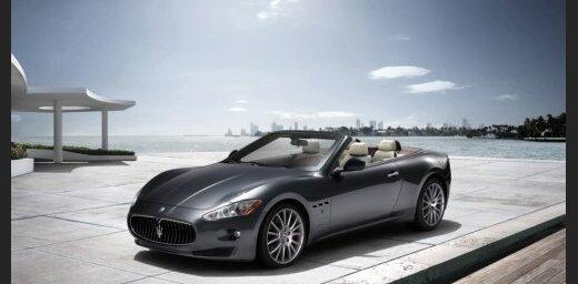 'Maserati' kabriolets uz 'GranTurismo' kupejas bāzes