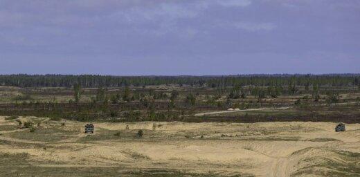 Ādažu poligonā – NATO paplašinātās klātbūtnes Igaunijā kaujas grupas mācības