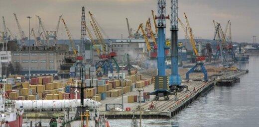 Клайпедский порт по-прежнему лидирует в странах Балтии по контейнерным погрузкам