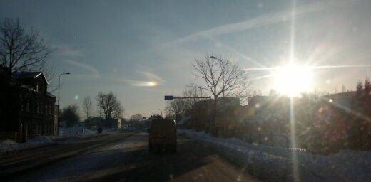 Neizprotama dabas parādība virs Jelgavas