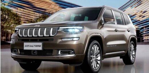 'Jeep' gatavo septiņvietīgu apvidnieku 'Grand Commander'