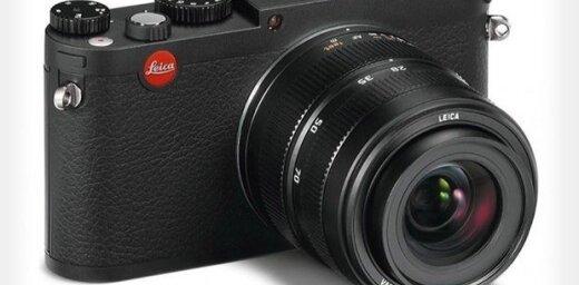 'Leica' prezentē liela sensora kompaktkameru 'X Vario'