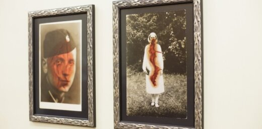 Foto: Kara muzejā atklāta Kristiana Brektes izstāde 'Ievainotie'
