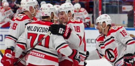 'Avtomobilist' ar kārtējo uzvaru sper vēl soli tuvāk KHL rekorda atkārtojumam