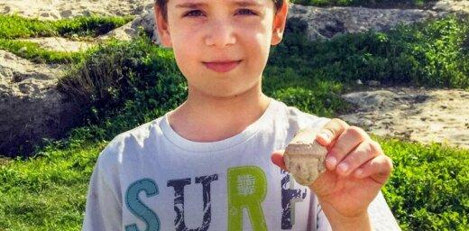 Mazs izraēliešu zēns nejauši veic unikālu atklājumu