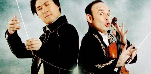 Rīgā koncertēs klasiskās mūzikas komiķu duets 'Igudesman & Joo'