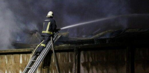 В Риге в пожаре на Яунциема гатве погибли два человека