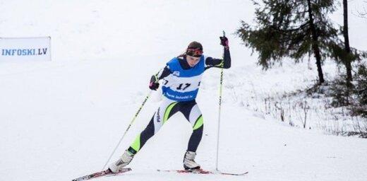 Slēpotājai Eidukai FIS punktu rekords sacensībās Zviedrijā