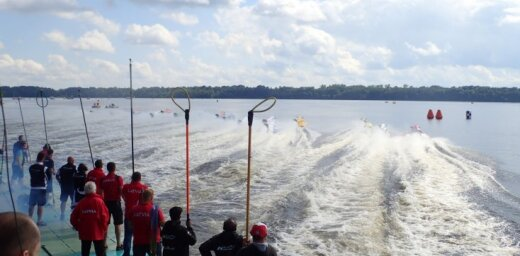 На чемпионате Европы по водно-моторному спорту погиб латвийский гонщик