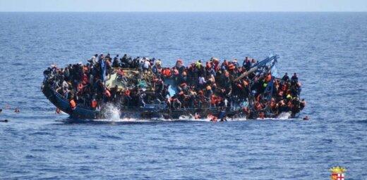 Драматические фото: в Средиземном море перевернулась лодка с мигрантами
