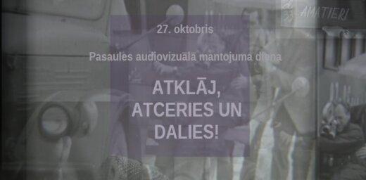 Pasaules audiovizuālā mantojuma dienā Latvijas Nacionālais arhīvs aicina ielūkoties mūsu kino vēsturē
