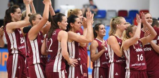 ВИДЕО: Сборная Латвии лишает титула чемпионок Европы и проходит в четвертьфинал