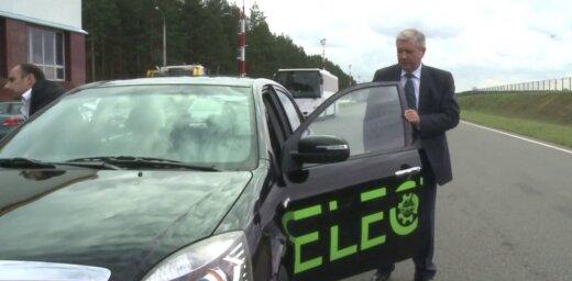 Video: Baltkrievi izstrādājuši savu pirmo elektromobili