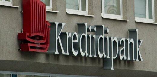 Igaunijas banka 'Eesti Krediidipank' slēgs filiāli Latvijā