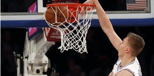 Video: Porziņģis atkal ielaužas NBA dienas momentu izlasē