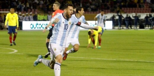 Mesi: Ja Argentīna neuzvarēs Pasaules kausā, mums citas iespējas vairs nebūs