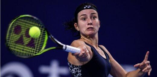 Sevastova ar pārliecinošu sniegumu iekļūst 'WTA Elite Trophy' pusfinālā