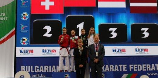 Латвийская каратистка завоевала бронзу юниорского чемпионата Европы