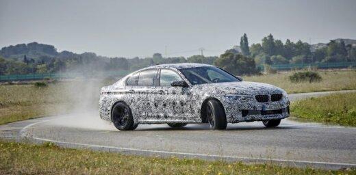 BMW oficiāli apstiprina: jaunais 'M5' būs ar pilnpiedziņu un 'automātu'
