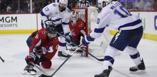 Tampabejas 'Lightning' pārtrauc 'Capitals' uzvaru sēriju Stenlija kausa pusfinālā