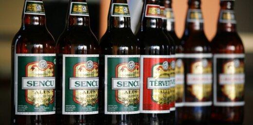 Pērn audzis 'Tērvetes alus' ražotāja apgrozījums