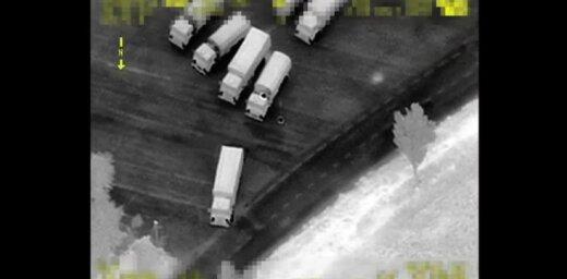 Video: Kā Ukrainā nelegāli iebrauc Krievijas kolonna