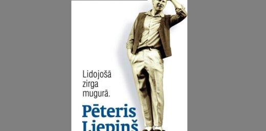 Klajā laista Dailes teātra aktiera Pētera Liepiņa biogrāfija