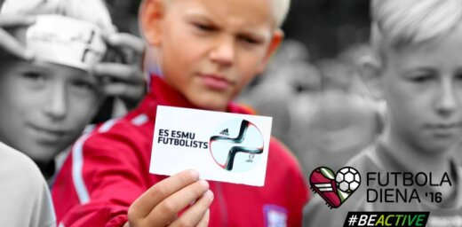 Futbola dienas pasākumu programma sākusies ar vairāk nekā 80 futbola notikumu pieteikšanu