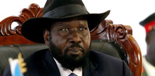 Dienvidsudānas prezidents Kīrs pavēl nogalināt pieķertus noziedzniekus