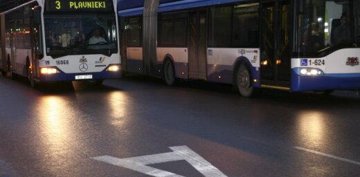 В Ночь музеев в Риге пустят дополнительные рейсы общественного транспорта