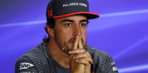 Alonso: Palikšu 'McLaren' vien tad, ja būs iespēja uzvarēt