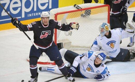 ASV izlase negaidīti pārliecinoši pieveic Somiju