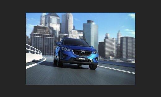 """Японцы признали """"Автомобилем года"""" кроссовер Mazda CX5"""