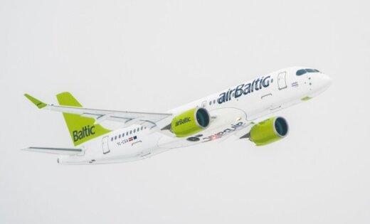 С начала года airBaltic перевезла более миллиона пассажиров